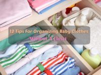 12 Tips For Organizing Baby Clothes Without A Closet